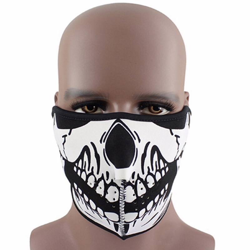 Scary-Mask-Festival-Skull-Masks-Skeleton-Outdoor-Motorcycle-Bicycle-Multi-Masks-Scarf-Half-Face-Mask-Cap